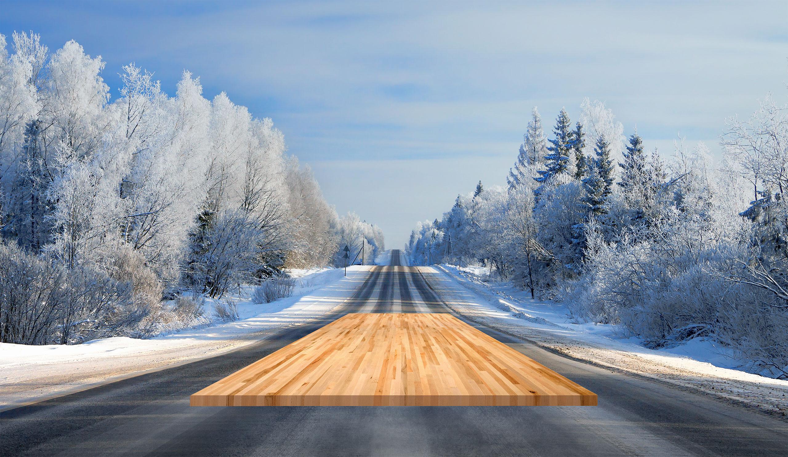 image slider - Québec hiver